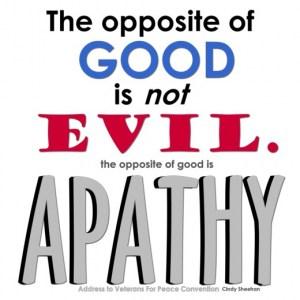 citat apatie