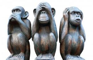 cele trei maimute