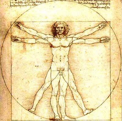 Omul Vitruvian - de Leonardo DaVinci
