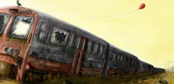 tren sfarsitul lumii