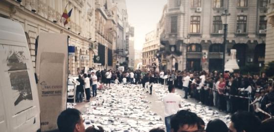 ziua internationala a cartii in centrul vechi din bucuresti