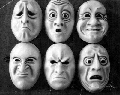 Măștile emoțiilor