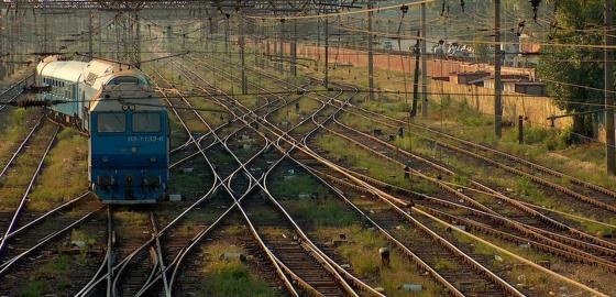 tren cai ferate calatorie